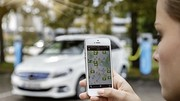 Localiser et payer ses recharges : Mercedes lance sa propre app