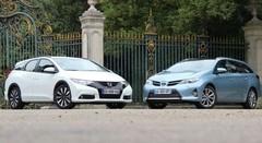 Essai Honda Civic Tourer vs Toyota Auris Touring Sports : Les breaks alternatifs