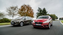 Essai BMW Série 2 Active Tourer vs Citroën C4 Picasso