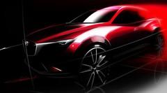 Mazda CX-3 : première image teaser pour le futur crossover nippon