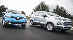 Essai Renault Captur Energy dCi 90 Intens vs Ford Ecosport 1.5 TDCi 90 : Querelle d'ego