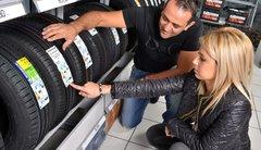 Du ménage dans les pneus neufs
