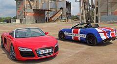 Essai Audi R8 Spyder vs Jaguar F-Type Roadster : Deux approches de l'extravagance