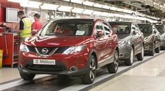 Déjà 2 millions de Nissan Qashqai produits en Europe