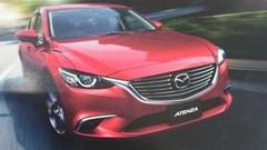 Mazda 6 restylée, première image