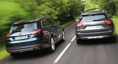 Essai Opel Insignia Country Tourer CDTi 195 vs Citroën C5 CrossTourer HDi 200 : Petite aventure en grand format