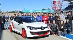 Renault : record à Suzuka pour la Megane RS Trophy-R