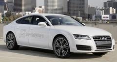 Audi A7 h-tron, l'hybride rechargeable à hydrogène