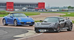 Essai Lotus Exige S vs Porsche 911 Targa 4S : La bourgeoise et la rebelle