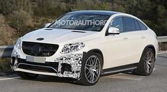 Photos volées : le Mercedes GLE déniché en phase de test