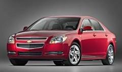 Chevrolet Malibu : Les japonaises en ligne de mire