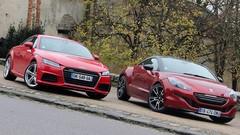 Essai Audi TT 3 vs Peugeot RCZ-R : Il va y avoir du sport !