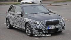 Les photos volées de la BMW Série 1 restylée