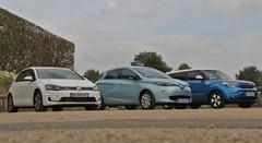 Essai Kia Soul EV vs Renault Zoé vs Volkswagen e-Golf : La ville sous tension