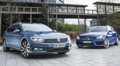 Essai Volkswagen Passat SW vs Mercedes Classe C break