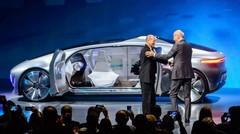 """Concept Mercedes F015 : """"à nous de vous faire préférer le train"""""""