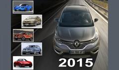 TOP 10 des nouveautés automobiles attendues en 2015