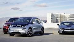 La BMW i3 se gare toute seule à l'aide d'une montre connectée