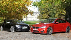 Essai Audi RS5 vs BMW M4 : Six ou huit ?