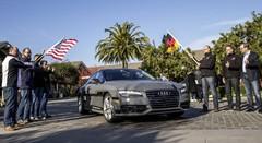 Audi : une A7 sans conducteur de la Silicon Valley à Las Vegas