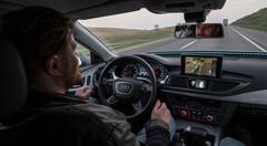 Audi A7 piloted driving, 900 km sans chauffeur