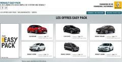 La gamme Renault garantie et entretenue avec un seul loyer