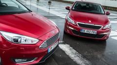 Essai : La Ford Focus restylée affronte la Peugeot 308