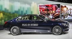C350 plug-in hybride, le petit calibre de Mercedes