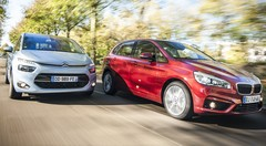 Essai Citroën C4 Picasso 2.0 BlueHDi 150 vs BMW 218d Active Tourer : BMW au pays des monospaces