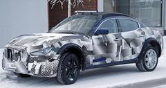Le SUV Maserati Levante en approche