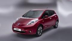 Nissan : la Leaf devant la Renault Zoe