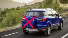 Ford EcoSport (2015) : plus de roue de secours sur le hayon