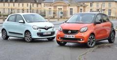 Essai Renault Twingo et Smart Forfour : sœurs ennemies