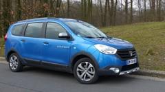Essai Dacia Lodgy Stepway : léger affinage