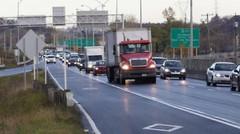 Une voie rapide pour les voitures propres et l'autopartage