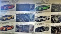 L'Aventador SV encore en fuite