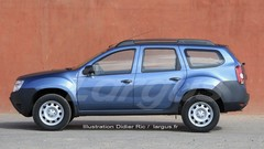 Futur Dacia Duster (2017) : une version à 7 places ?