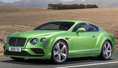 Bentley Continental GT restylée