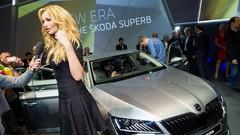 Skoda Superb : soirée de gala à Prague