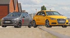 Essai Audi S1 vs Citroën DS3 Racing : Bombinettes des beaux quartiers