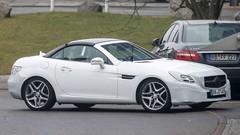 Mercedes SLC : Rebaptisé et restylé
