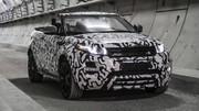 Range Rover Evoque Cabriolet 2016 : premières images officielles du SUV décapotable