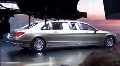 Mercedes Maybach S600 Pullman : La plus longue du salon de Genève