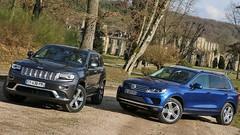 Essai Jeep Grand Cherokee vs Volkswagen Touareg : Gentlemen Baroudeurs