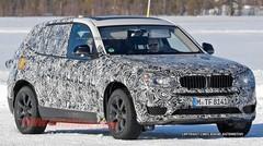 BMW X3 2017 : Spyshots : le prochain BMW X3 déjà surpris en tests hivernaux