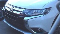 Le Mitsubishi Outlander restylé montre son nez