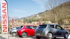 Essai Nissan Leaf : Concert de batteries dans le Turini