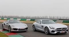 Essai Mercedes AMG GT S vs Porsche 911 Turbo : Génération Turbo !