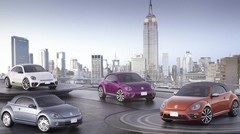 4 concepts Volkswagen Beetle colorés à New York
