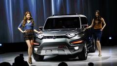 Ssangyong XAV Concept, hommage au premier Korando